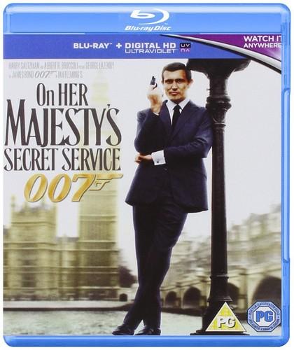 On Her Majesty's Secret Service [Blu-ray + UV Copy]