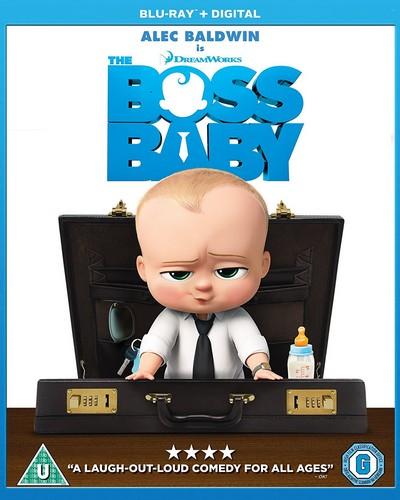 The Boss Baby [Blu-ray + Digital HD] [2017] (Blu-ray)