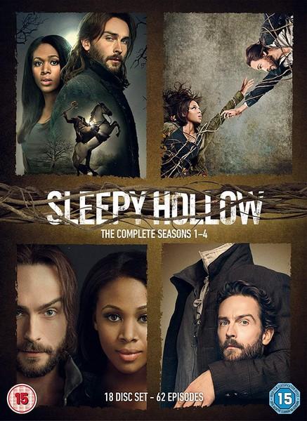 Sleepy Hollow: The Complete Seasons 1-4 (DVD)