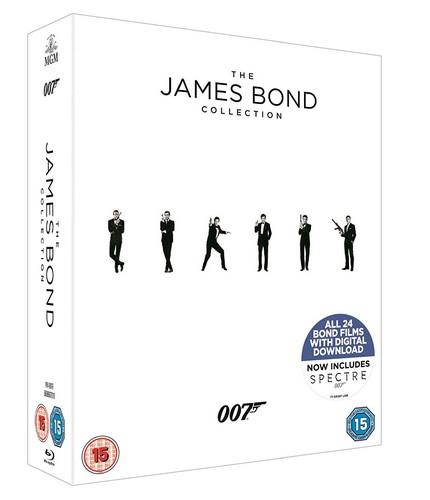 The James Bond Collection [Blu-ray] (Blu-ray)