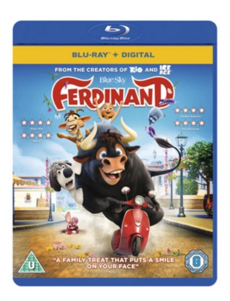 Ferdinand [Blu-ray + Digital HD] [2017] (Blu-ray)