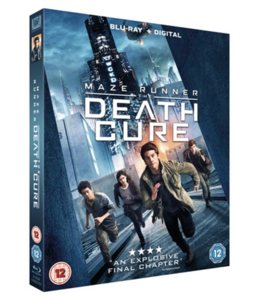 Maze Runner - The Death Cure [Blu-ray + Digital Download] [2018] (Blu-ray)