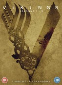 Vikings: Seasins 1-5 DVD (DVD)