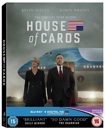 House Of Cards - Season 03 (BLU-RAY)