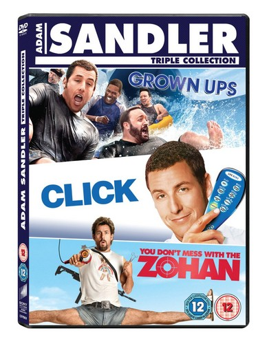 Click/Grown Ups/Just Go With It/You Don't Mess With The Zoha (DVD)