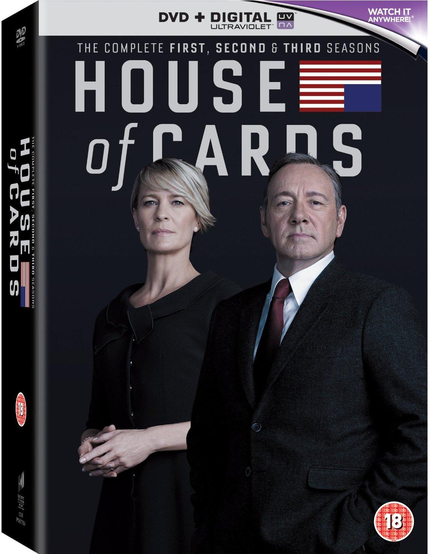 House Of Cards - Season 1-3 (DVD)