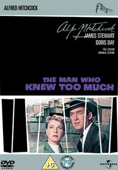 Man Who Knew Too Much (Hitchcock 1955) (DVD)