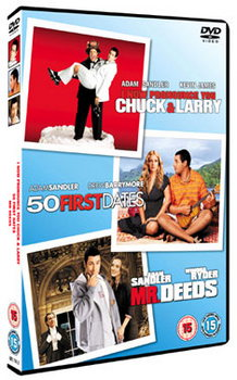 I Now Pronounce You Chuck & Larry & 50 First Dates & Mr Deed (DVD)