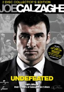 Joe Calzaghe - My Life Story & Undefeated (DVD)