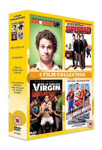 Knocked Up/Superbad/The 40 Year Old Virgin/Talladega Nights (DVD)