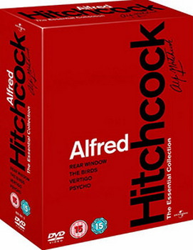 Alfred Hitchcock: Essential Collection (Psycho  The Birds  Rear Window  Vertigo) (DVD)