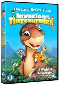 Land Before Time - 11 - Invasion Of The Tinysauruses (DVD)