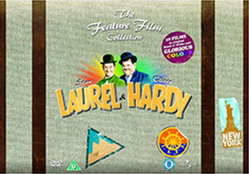 Laurel And Hardy Complete Boxset (DVD)
