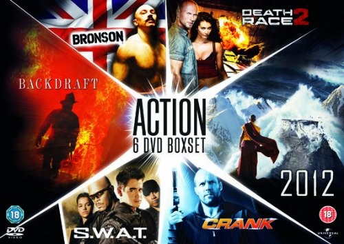 2012/Backdraft/Bronson/Crank/Death Race 2/S.W.A.T (DVD)