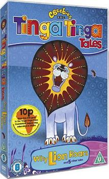 Tinga Tinga Tales - Why Lion Roars (DVD)
