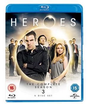 Heroes - Season 3 (Blu-Ray)