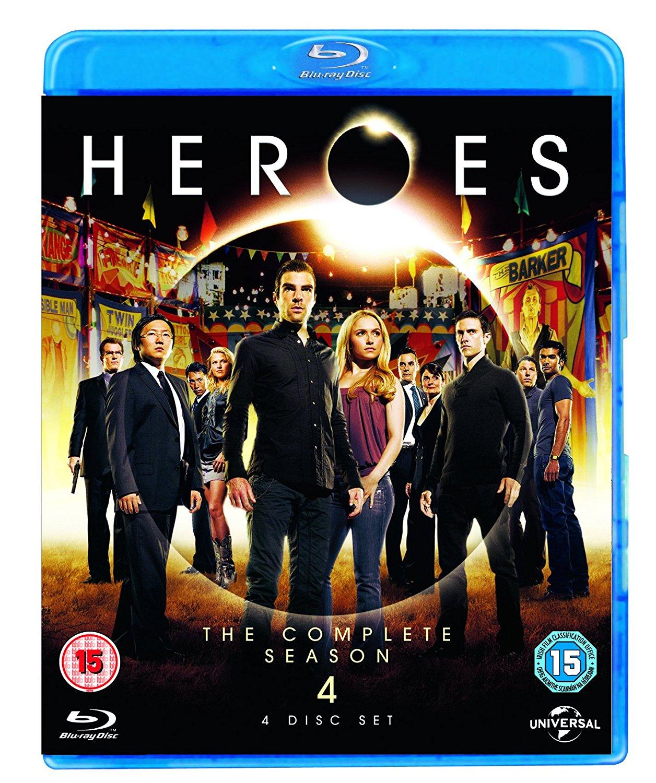 Heroes - Series 4 (BLU-RAY)