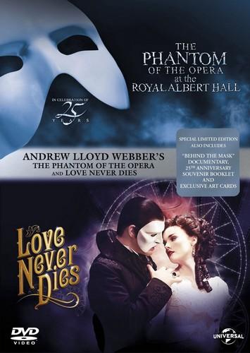 Phantom Of The Opera / Love Never Dies (DVD)