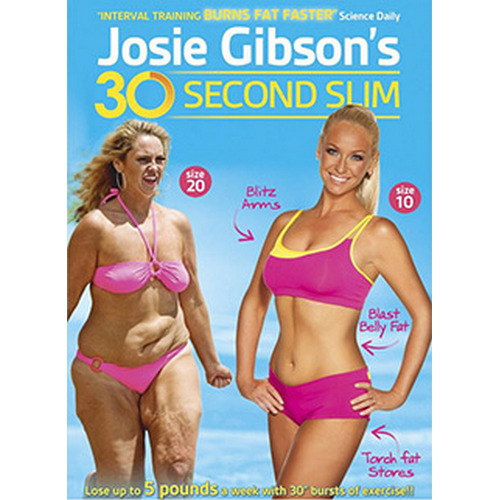 Josie Gibson'S 30 Second Slim (DVD)