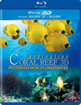 Fascination Coral Reef 3D - Mysterious Worlds (BLU-RAY)