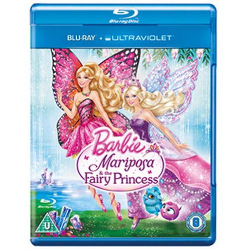 Barbie Mariposa & The Fairy Princess (BLU-RAY)