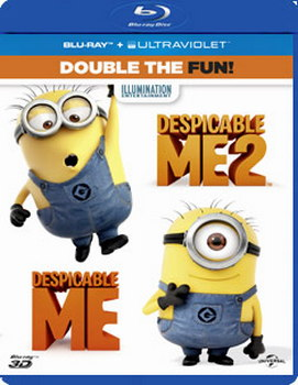 Despicable Me/Despicable Me 2 (Blu-ray)