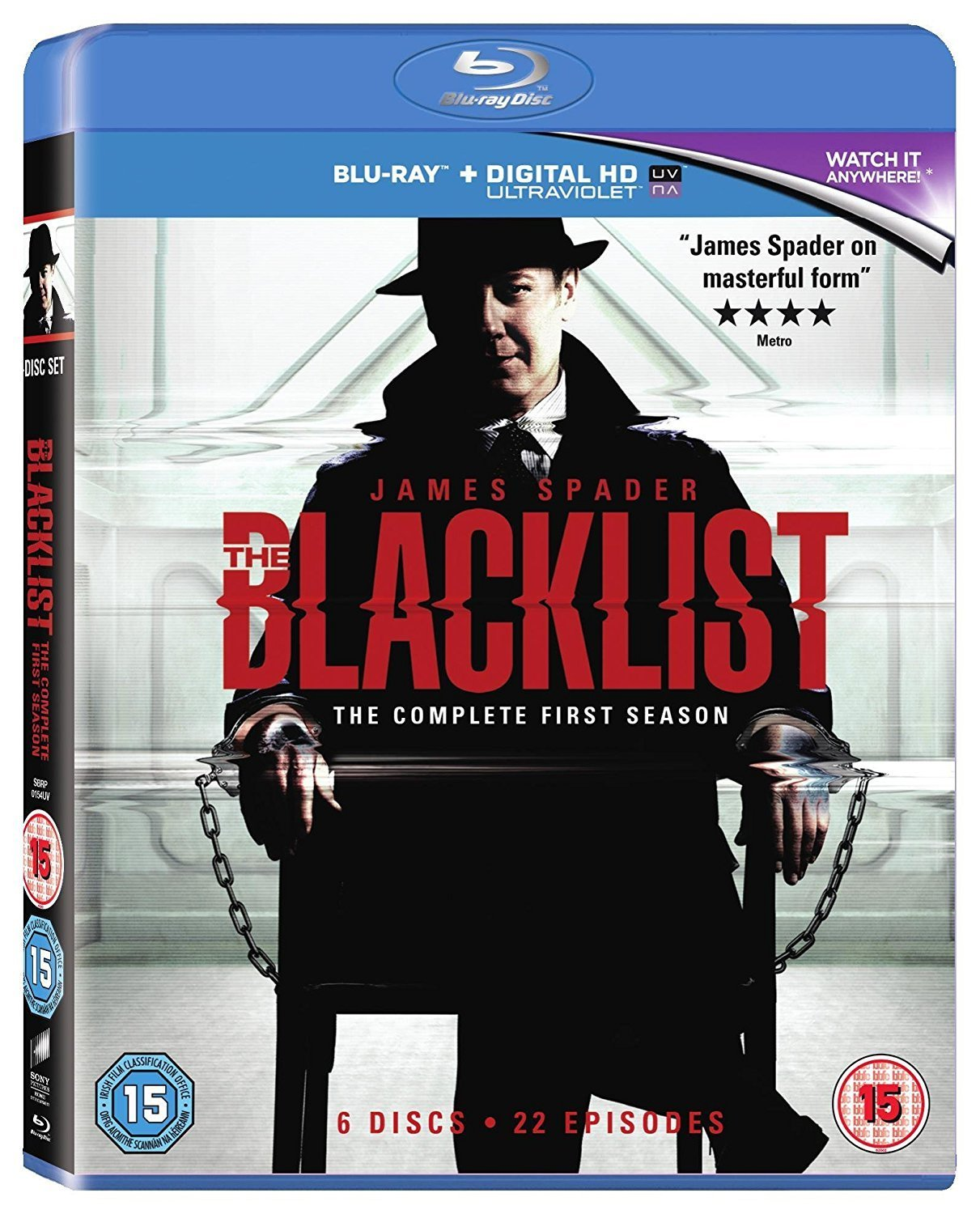 The Blacklist - Season 1 (Blu-ray + UV)
