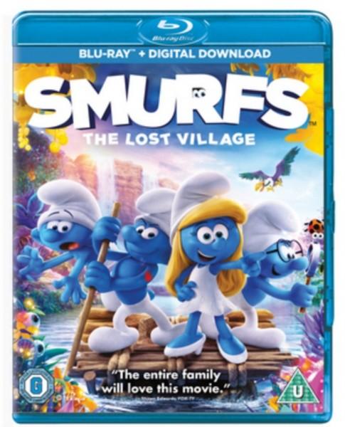 Smurfs: The Lost Village  [2017] [Region Free] (Blu-ray)