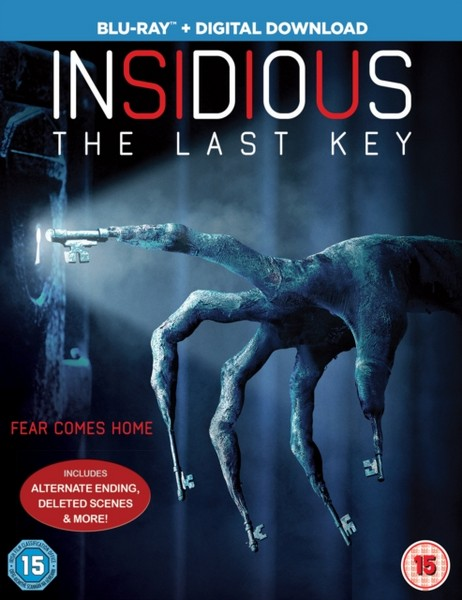 Insidious: The Last Key  [2018] (Blu-ray)