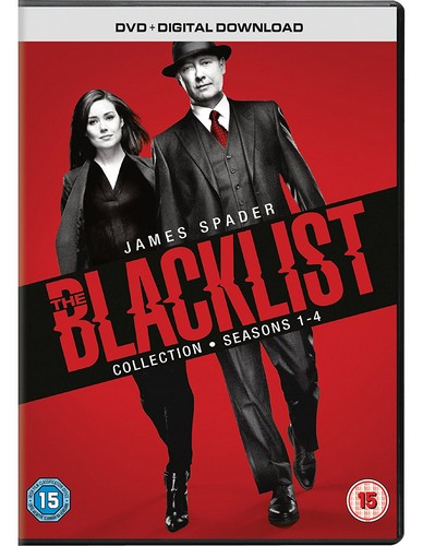The Blacklist: Seasons 1-4 (DVD)