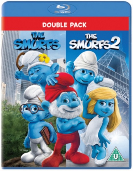 Smurfs 1 & 2 Box Set (Blu-Ray + UV)