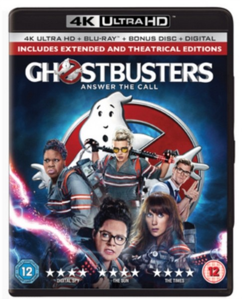 Ghostbusters 2-Disc 4K Ultra HD & Blu-ray