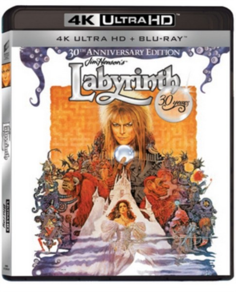 Labyrinth 30th Anniversary (2 Disc 4K Ultra HD and Blu-ray)