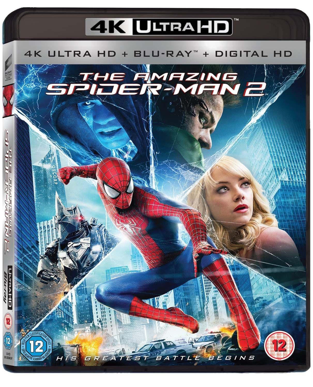 The Amazing Spider-Man 2 (2 Disc 4K UHD & Blu-ray)