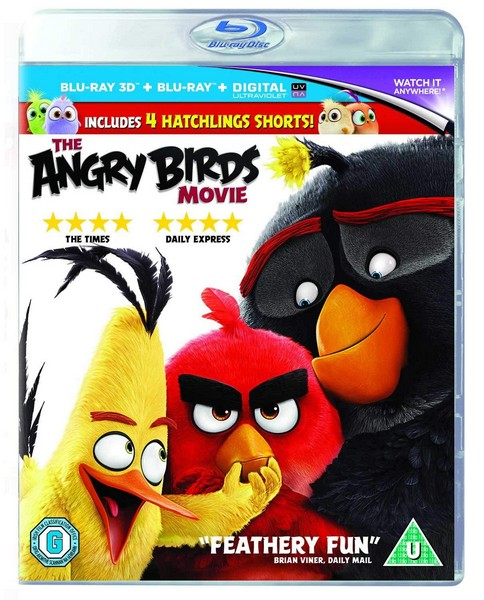The Angry Birds Movie (3D Blu-ray)