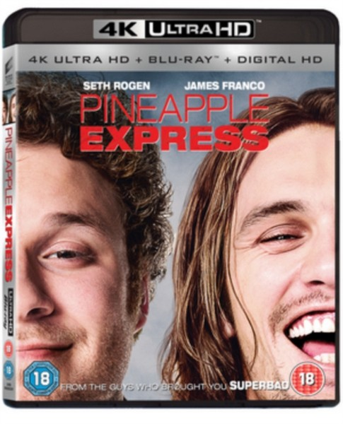 Pineapple Express (2 Disc 4K UHD & Blu-ray)