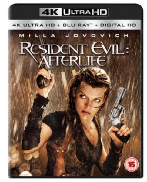 Resident Evil: Afterlife (4K Ultra HD + Blu-ray)
