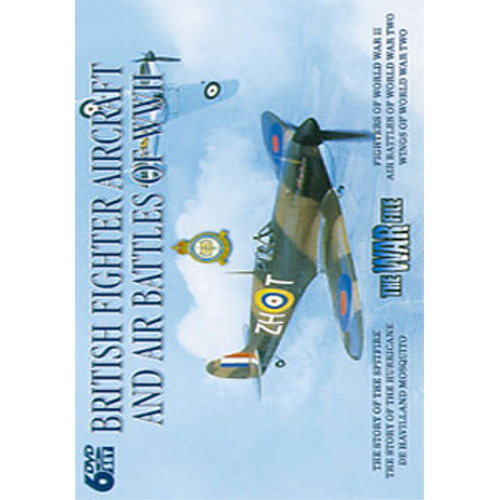 British Fighter Aircraft And Air Battles Of Wwii (Box Set) (Six Discs) (DVD)