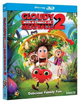 Cloudy With A Chance Of Meatballs 2: Revenge Of The Leftovers (Blu-ray)