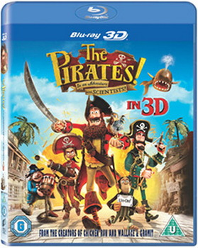 Pirates - In An Adventure With Scientists (BLU-RAY)