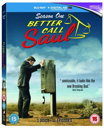 Better Call Saul - Season One (Blu-Ray + UV)