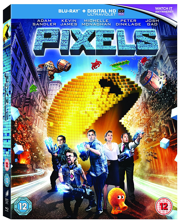 Pixels [Blu-Ray] [Region Free] (Blu-Ray) (DVD)