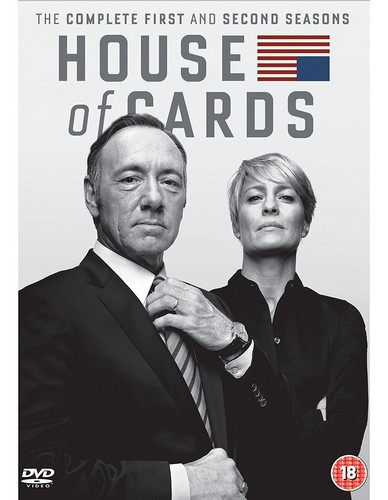 House Of Cards - Season 01 to 02 (DVD)