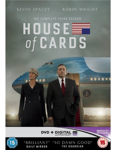 House Of Cards - Season 3 (DVD)