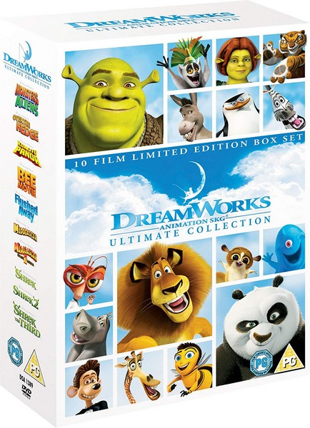 Dreamworks Animation Ultimate Collection (DVD)