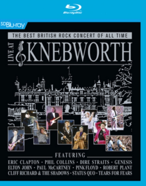 Various Artists - Live At Knebworth [Blu-ray] [2015] (Blu-ray)