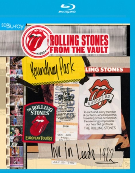 The Rolling Stones: From the Vault - Live in Leeds 1982 [Blu-ray] (Blu-ray)