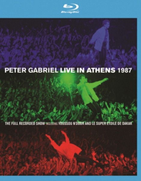 Peter Gabriel: Live In Athens 1987 (Blu-ray)