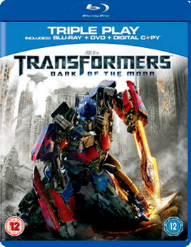 Transformers: Dark of the Moon - Triple Play (Blu-ray + DVD + Digital Copy)