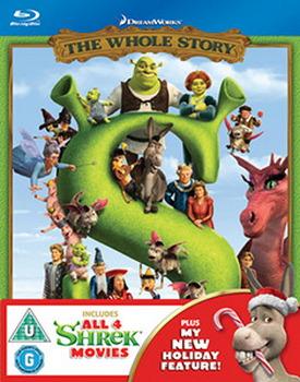 Shrek 1-4 Boxset Blu-ray